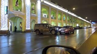 Классическое ДТП на Садовой улице с Гелендвагеном