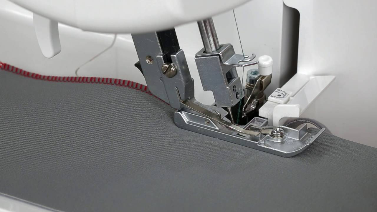 BERNINA L 460: Tutorial 5/8