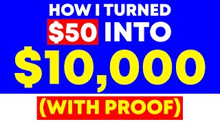 How I Turned $50 In To $10,000 With Affiliate Marketing