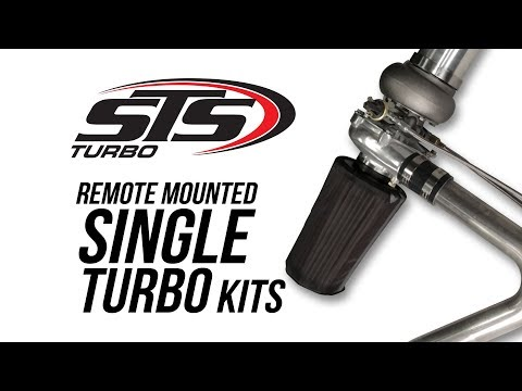 STS Remote Mounted Single Turbo Kits