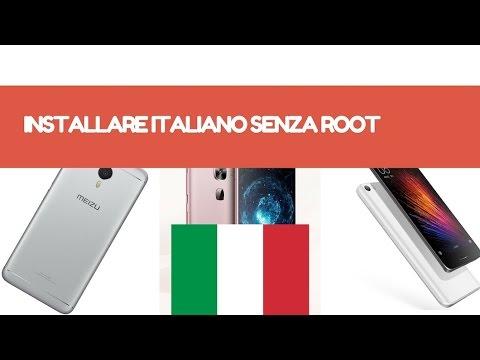 Come installare lingua Italiana su Smartphone senza Root