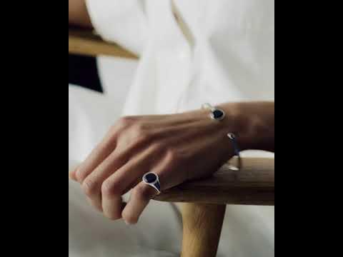 KINDRED<br>Ring, sterling silver