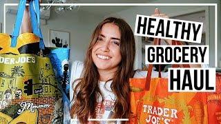 HEALTHY TRADER JOE'S HAUL! | easy 1 person meals