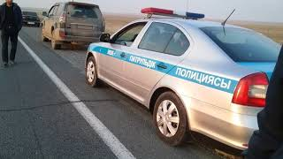 Развод  на превышение скорости трасса Чимкент-Самара
