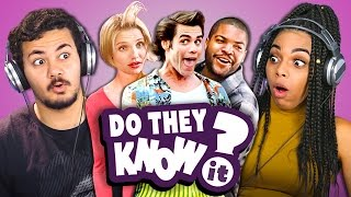 DO TEENS KNOW 90s COMEDY MOVIES? (REACT: Do They Know It?) - Video Youtube