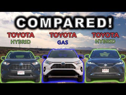 2021 Toyota Venza vs 2021 Toyota RAV4 Hybrid vs 2021 Toyota RAV4   Smartest Toyota SUV Buy?