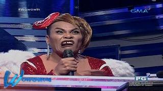 Wowowin: Super Tekla, nanggigil sa isang Ms. Wow contestant