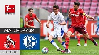 Köln 1-0 Schalke 04 Pekan 34