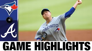 Hyun Jin Ryu K's 8 in first win of season | Blue Jays-Braves Game Highlights 8/5/20