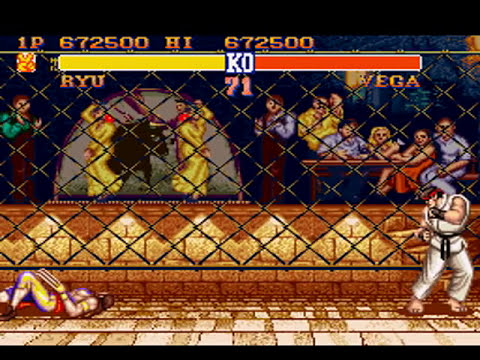 Street Fighter II - The World Warrior (SNES) - Ryu (Hardest)