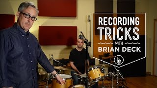 How To Record Drums with 1, 2, 3, 4, or 5 Microphones with Brian Deck | Reverb Recording Tricks