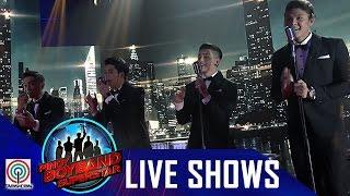 "Pinoy Boyband Superstar Live Shows: Ford, Joao, Mark & Tristan - ""Hanggang Kailan"""
