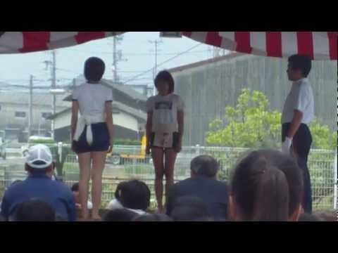 今治市小学生相撲大会 2012 女子団体戦 りん。