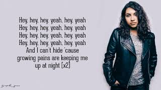 Gambar cover Alessia Cara - Growing Pains (Lyrics)