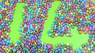 1- 20 learning to count with Candy Numbers! Surprise Eggs Smarties Candy!