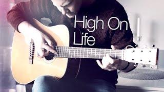 Martin Garrix Feat. Bonn   High On Life   Fingerstyle Guitar Cover