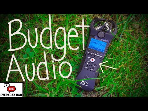 How YOU Can Record the BEST Camera Audio on a BUDGET!  Zoom H1N Audio Recorder