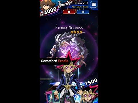 Yugioh Duel Links - Hardest Monster to summon : Exodia Necross