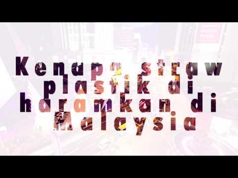 Kenapa plastik straw diharamkan di Malaysia
