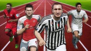 FIFA 16 Speed Test   Fastest Centre Backs CB in FIFA