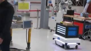 Ovládání robota pomocí gest a brýlí