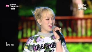 141014 SanE (Feat. Kang Min Hee) - What's Wrong With Me & A Midsummer Night's Sweetness