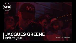 Jacques Greene Boiler Room Montréal Live Set