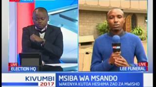Msiba wa Msando : Familia ya mwendazake Msando yafika Lee Funeral Home kutazama mwili