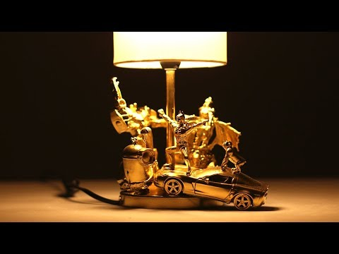 DIY - AWESOME DESK LAMP FROM KIDS TOYS by Mr. Hacker