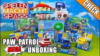 PAW Patrol Unboxing: Spielzeugautos von Ryder, Chase, Marshall, Skye, Rubble & Zentrale uvm. im Test