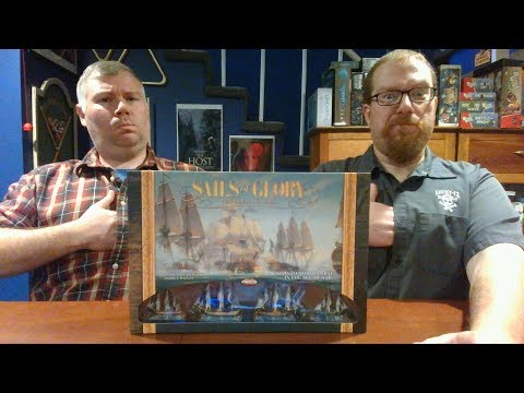 The Board Game Kaptain's review and tutorial for Sails of Glory