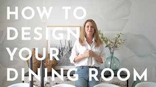 Dining Room Tour | Interior Design