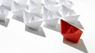 Смотреть онлайн Как сделать кораблик из бумаги