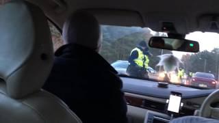 Police DUI raid funny fail - testing passenger instead the real driver (Estonia) - politsei
