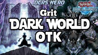 [DUEL LINKS] Dark World OTK (with Grit) - PVP Duels + Deck Profile