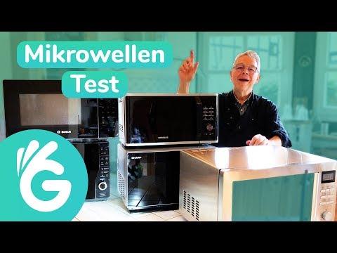 Mikrowellen Test - 5 Mikrowellen mit Grill und Heißluft im Vergleich