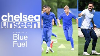 Timo Werner, Ziyech & Tammy Abraham on ????in Shooting Drill | Chelsea Unseen