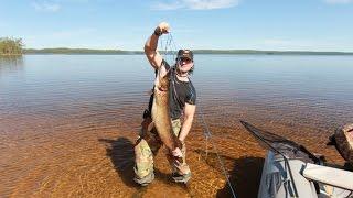 Ловля лосося в карелий на реках