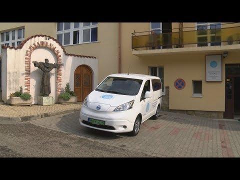 Elektromos kisbusz a Szent Ferenc Kórháznak - video preview image