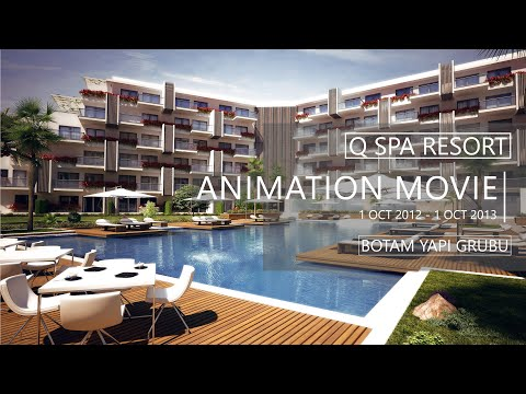 Q Spa Resort - Animationsfilm