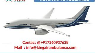 Classy Air Ambulance Service in Bokaro and Jamshedpur at low cost by King