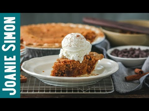 Pumpkin Chocolate Chip Cookie Pie - HOLIDAY PIE RECIPE
