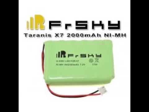 Frsky bateria para comando Taranis X7 da Banggood