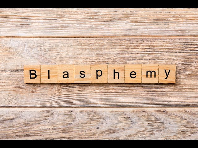 Blasphemy Part 1 Of 2 Against The Holy Spirit