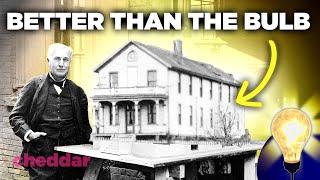 Edison's Greatest Invention WASN'T The Lightbulb - The Lightbulb Moment