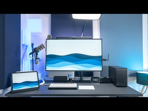 How I Improved My Remote Work Desk Setup (2020)