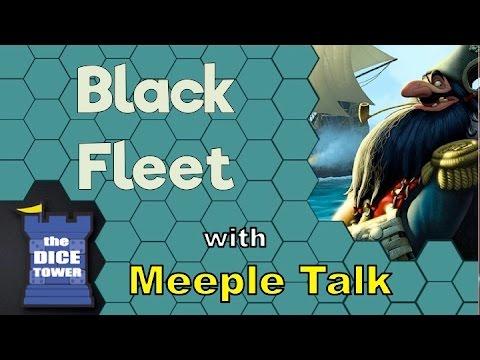 Black Fleet Review - with Meeple Talk
