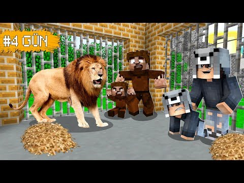 ASLAN KAFESİNDEN SON ÇIKAN AİLE KAZANIR! 😱 - Minecraft