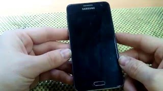 Samsung Galaxy A3 SM-A300F разборка, чистка после воды.