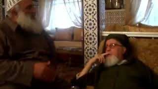 الشيخ محمد الأمين بو خبزة - لقاؤه بالإمام الألباني رحمه الله